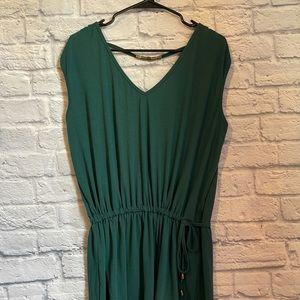 Hount Women's Emerald Sleeveless Drawstring Waist